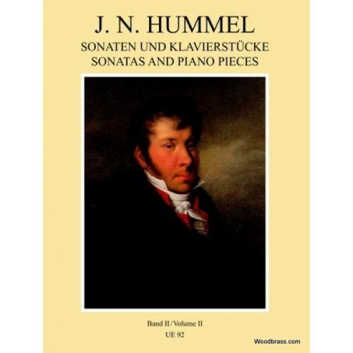 UNIVERSAL EDITION HUMMEL J.N. - PIANO WORKS BAND 2 - PIANO