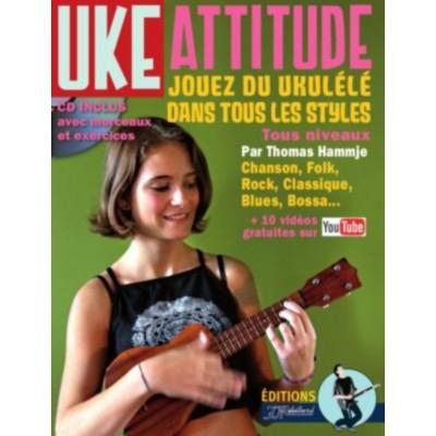 JJREBILLARD HAMMJE THOMAS - METHODE UKULELE UKE ATTITUDE + CD