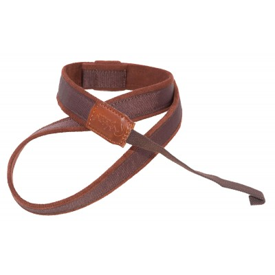 RIGHTON GUITAR STRAP UKE-HOOK BROWN