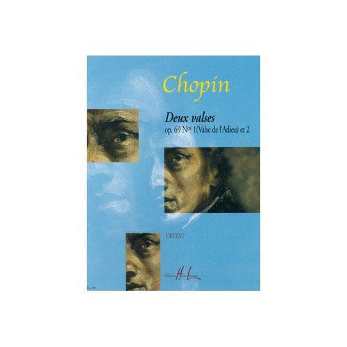 LEMOINE CHOPIN F. - VALSES OP.69 POSTHUME (2) - PIANO