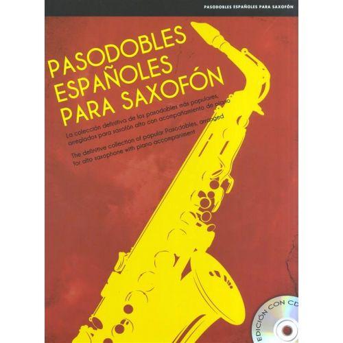 UME (UNION MUSICAL EDICIONES) PASODOBLES ESPANOLES PARA SAXOFON + CD