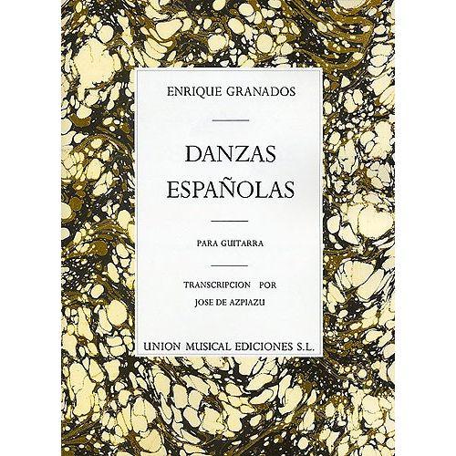 UME (UNION MUSICAL EDICIONES) GRANADOS E. - DANZAS ESPANOLAS PARA GUITARRA