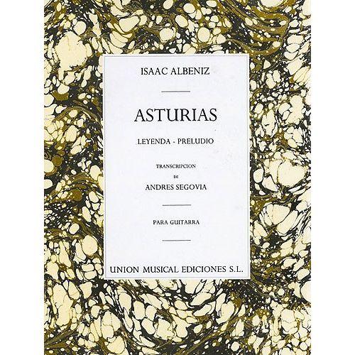 UME (UNION MUSICAL EDICIONES) ALBENIZ ASTURIAS PRELUDIO GUITAR - GUITAR