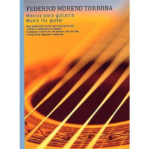 UME (UNION MUSICAL EDICIONES) FEDERICO MORENO TORROBA - MUSICA PARA GUITARRA - GUITAR