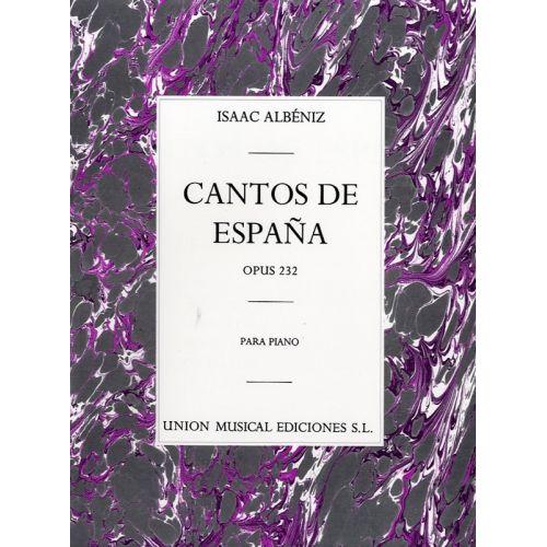 UME (UNION MUSICAL EDICIONES) ALBENIZ CANTOS DE ESPANA OP.232 COMPLETE - PIANO SOLO