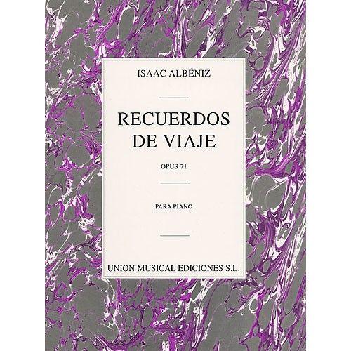 UME (UNION MUSICAL EDICIONES) ISAAC ALBENIZ RECUERDOS DE VIAJE OP.71 - PIANO SOLO