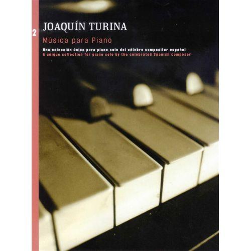 UME (UNION MUSICAL EDICIONES) JOAQUIN TURINA MUSICA PARA PIANO BOOK 2 - PIANO SOLO
