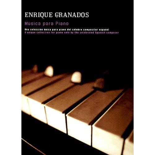 UME (UNION MUSICAL EDICIONES) ENRIQUE GRANADOS MUSICA PARA - PIANO SOLO