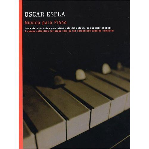 UME (UNION MUSICAL EDICIONES) ESPLA - ESPLA MUSICA PARA PIANO - PIANO SOLO