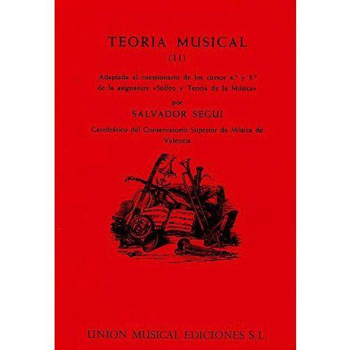 UME (UNION MUSICAL EDICIONES) SEGUI TEORIA MUSICAL VOL 2 - THEORY