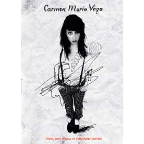 UNIVERSAL MUSIC PUBLISHING CARMEN MARIA VEGA - LA MENTEUSE - PVG TAB