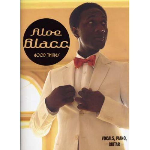 UNIVERSAL MUSIC PUBLISHING ALOE BLACC - GOOD THINGS - PVG TAB