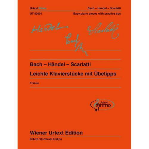SCHOTT BACH J.S. - HANDEL G.F. - SCARLATTI A. - BACH - HANDEL - SCARLATTI BAND 1 - PIANO