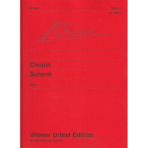 WIENER URTEXT EDITION CHOPIN F. - SCHERZI - PIANO