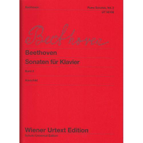 WIENER URTEXT EDITION BEETHOVEN L.V. - PIANO SONATAS VOL.2
