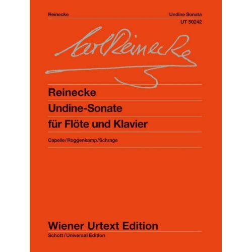 WIENER URTEXT EDITION REINECKE - UNDINE OP.167 - FLUTE / PIANO