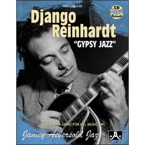AEBERSOLD AEBERSOLD N°128 - DJANGO REINHARDT - GYPSY JAZZ + CD