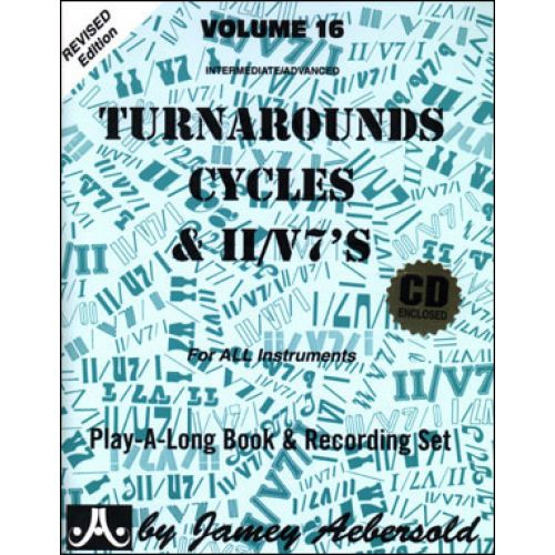 AEBERSOLD AEBERSOLD N°016 - TURNAROUNDS, CYCLES, & II/V7S + 2 CD
