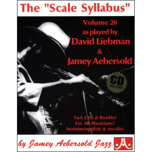 AEBERSOLD AEBERSOLD N°026 - THE SCALE SYLLABUS + 2 CD