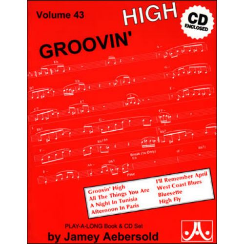 AEBERSOLD AEBERSOLD N°043 - GROOVIN' HIGH + CD