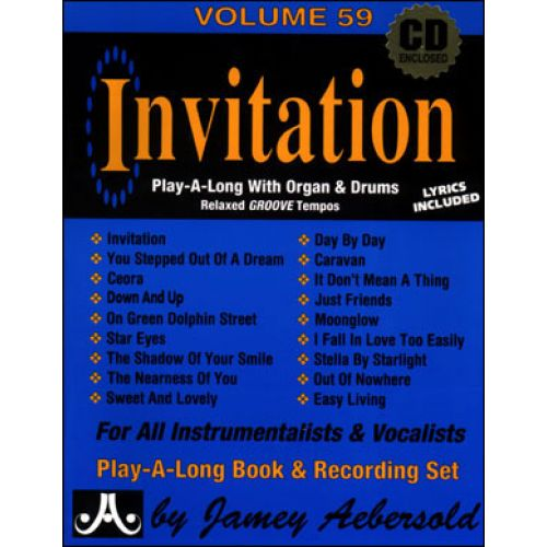 AEBERSOLD AEBERSOLD N°059 - INVITATION