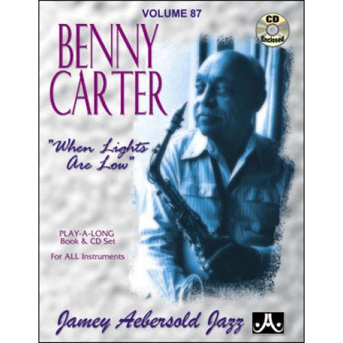 AEBERSOLD AEBERSOLD N°087 - BENNY CARTER -