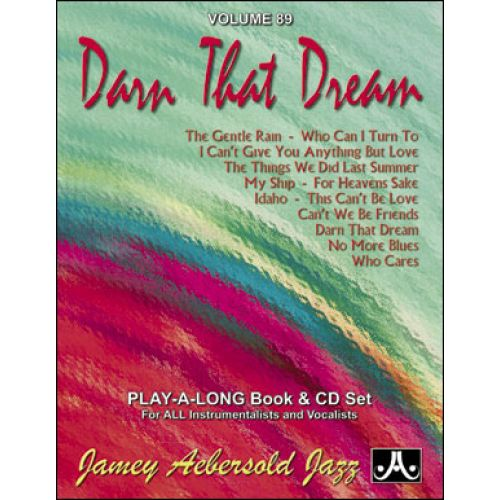 AEBERSOLD AEBERSOLD N°089 - DARN THAT DREAM + CD