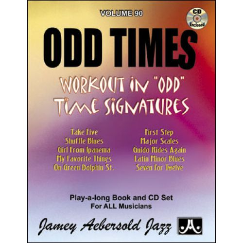 AEBERSOLD AEBERSOLD N°090 - ODD TIMES + CD
