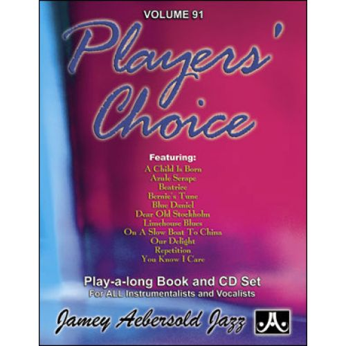 AEBERSOLD AEBERSOLD N°091 - PLAYER'S CHOICE + CD