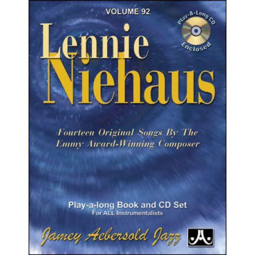 AEBERSOLD AEBERSOLD N°092 - LENNIE NIEHAUS + CD