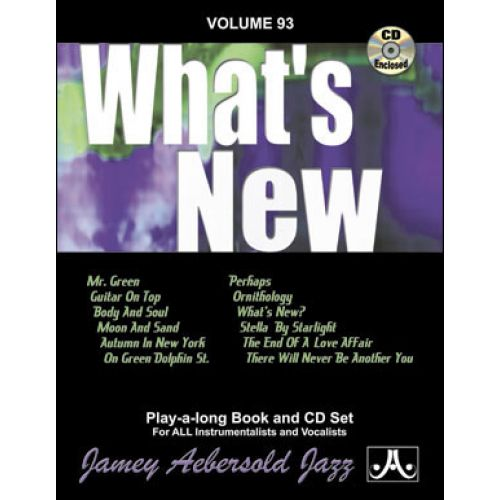 AEBERSOLD AEBERSOLD N°093 - WHAT'S NEW + CD
