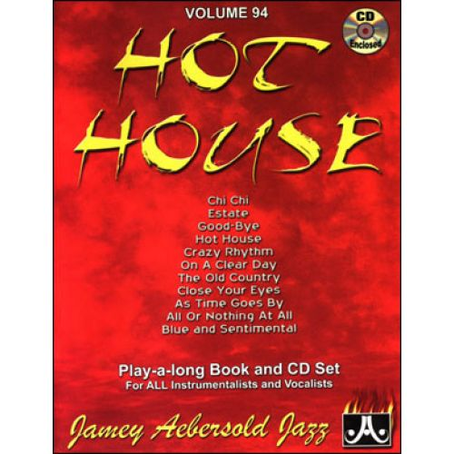 AEBERSOLD AEBERSOLD N°094 - HOT HOUSE + CD