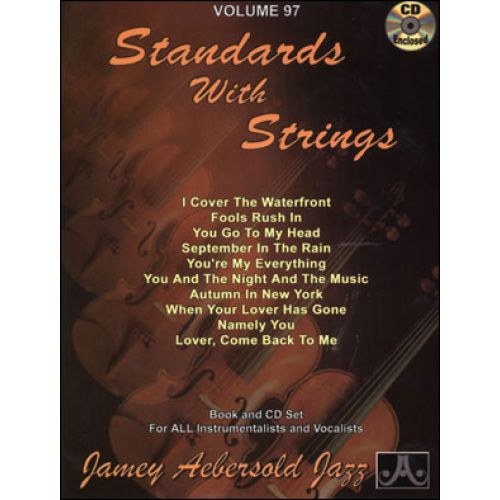 AEBERSOLD AEBERSOLD N°097 - STANDARDS WITH STRINGS + CD