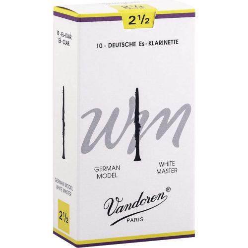 VANDOREN 10 CLARINET REEDS W.MASTER No 2,5