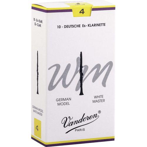 VANDOREN 10 CLARINET REEDS W.MASTER No 4
