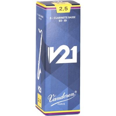 VANDOREN KLARINETTE BLÄTTER BASS - CR8225 - V21 2.5