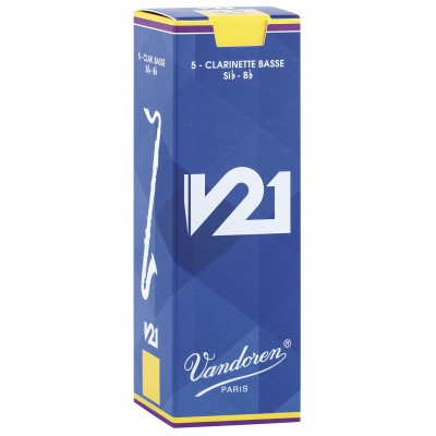 VANDOREN BASS CLARINET REED - CR824 - V21 4
