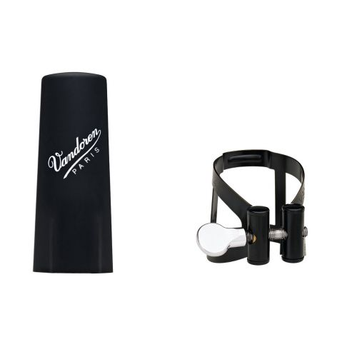 VANDOREN M/O BLACK LIGATURE ALTO WITH PLASTIC CAP - LC53BP