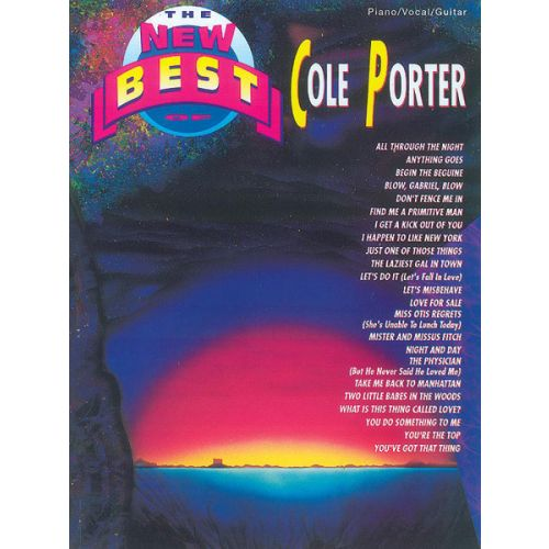 ALFRED PUBLISHING PORTER COLE - NEW BEST OF - PVG