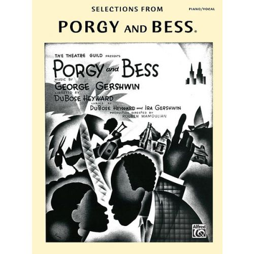 ALFRED PUBLISHING GERSHWIN GEORGE - PORGY AND BESS - VOICE AND PIANO