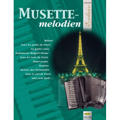 HOLZSCHUH MUSETTE-MELODIEN - ACCORDEON
