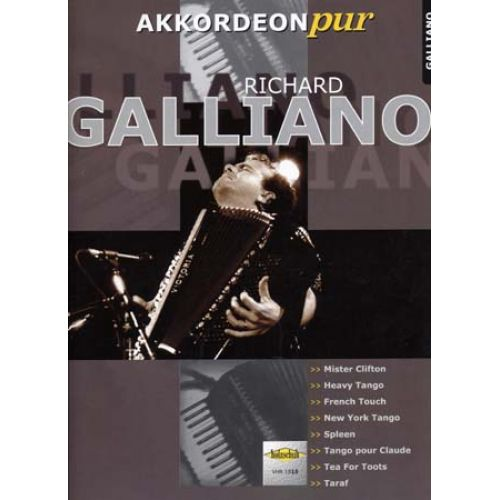 HOLZSCHUH GALLIANO RICHARD - AKKORDEON PUR - ACCORDEON