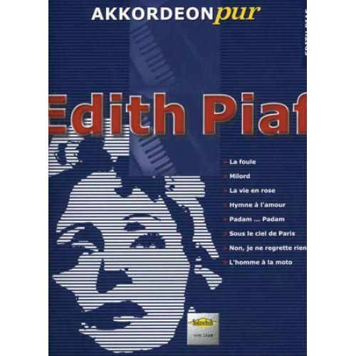 HOLZSCHUH PIAF EDITH - AKKORDEON PUR - ACCORDÉON