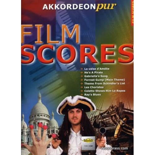 HOLZSCHUH FILM SCORES AKKORDEON PUR