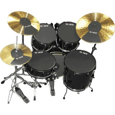 vic firth mutepp7 pack sourdine batterie 10 12 14 14 18 hi hat 2 cymbales. Black Bedroom Furniture Sets. Home Design Ideas