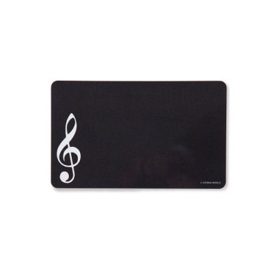 VIENNA WORLD CUTTING BOARD G-CLEF BLACK