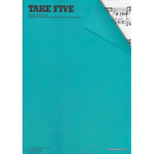 WISE PUBLICATIONS DESMOND PAUL - TAKE FIVE