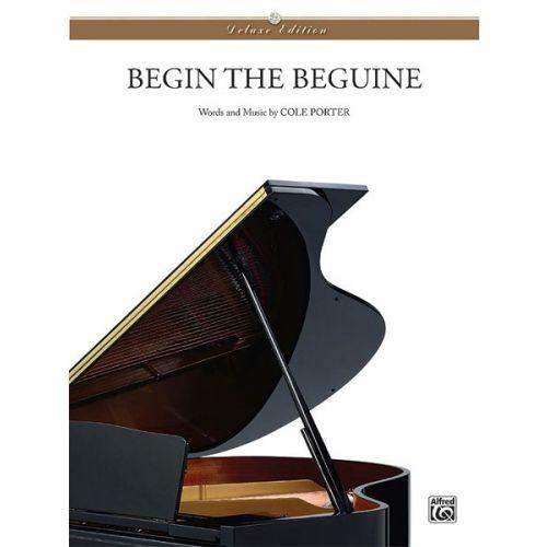 ALFRED PUBLISHING PORTER COLE - BEGIN THE BEGUINE - PVG