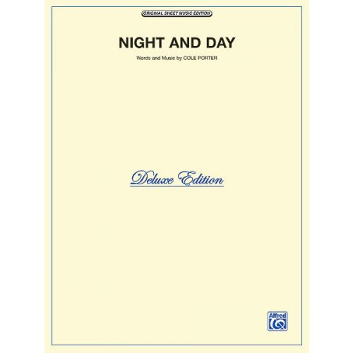 ALFRED PUBLISHING PORTER COLE - NIGHT AND DAY - PVG