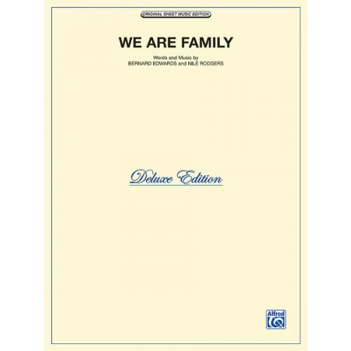 ALFRED PUBLISHING WE ARE FAMILY - PVG